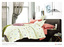 low price factory direct cotton bedding set bed linen from nantong textile