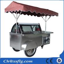 Ice Cream Gelato Cart For Sale (XSFLG Brand)