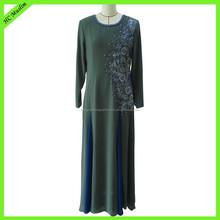 Fashion latest 2015 dubai new design abaya for promotion
