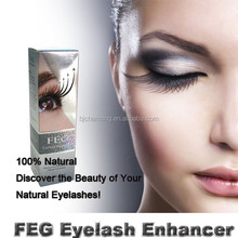 Brand new waterproof curly mascara 3ml FEG eyelash enhancer serum , Eyelash growth liquid