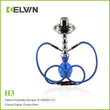 Marca de fábrica superior Kelvin H3 900mah 300 veces recargar barra de la cachimba en venta