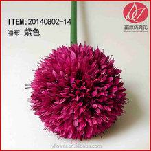 Super quality hot sell artificial flowers ball flower