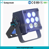 CE Rohs DMX 7*10W RGBW par cheap led stage lighting