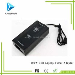 Factory outlet low pric Laptop Power Adapter 100W AC/DC with led
