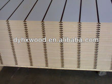 high Quality slatted MDF