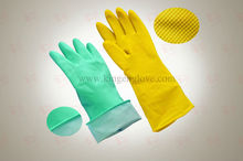 High Quality Latex Rubber Household Glove / Heavy Duty Glove / Latex Cleaning Glove