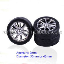DIY small Plastic toy wheels With Aperture 2mm