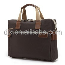 Men's Fashion Briefcase Attache Laptop Bag Synthetic/Basics 14.1 in laptop and tablet case