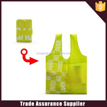 factory sale promotional polyester folding shopping bag