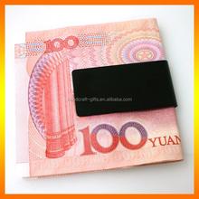 Promotional sales black money clip hardware for wallet