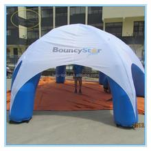 Acampamento ao ar livre limpar tenda bolha inflável com túnel para venda a partir de China fabricante