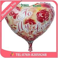 dongguan wholesale foil balloon helium balloon types of wedding balloon