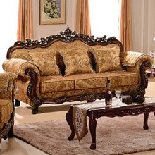 Timber Frame Carving Cheap Wooden Carved Sofa Set Designs