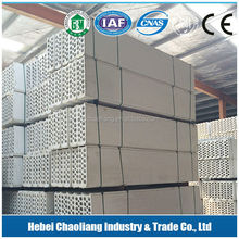 chaoliang Perforated/acoustic/sound-absorb Wall panel mgo board/fireproof mgo board/magnesium oxid board 120mm firewall