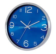 Aluminium dial wall clock