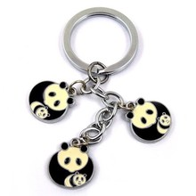 promotional metal cute cartoon key chain