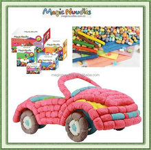 DIY Educational Toys Magic Nuudles with 5 US Patents with ASTM F963-11,EN71,OECD 209,ASTM 6400