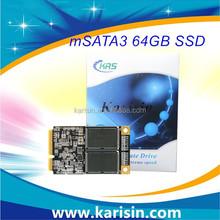 MLC NAND flash 64gb half mini pci-e msata SSD style ssd