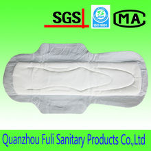 Disposable Cotton Sanitary Napkin With Loop