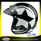 japão estilo retro black face aberta motordemotocicleta capacete