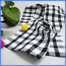 100% cotton standard size customized tea towel to embroider