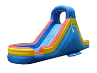Cheap Inflatable Water Slides with Pool for Sale