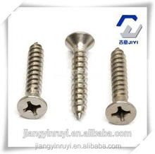 BEST PRICE!!!CROSS RECESSED COUNTERSUND HEAD TAPPING SCREW DIN 7982