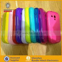 tpu+silicone case for samsung galaxy s3 mini