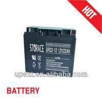 lead acid battery 12v 22ah lawn mower battery
