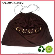 2015 Wholesale heavy duty custom promotional small cotton draw string bag string bag waterproof nylon polyester drawstring bag