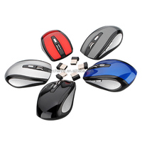 5 Color 2.4GHz High Qulity Wireless RF Optical Mouse/Mice+USB 2.0 Receiver For PC Laptop