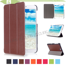 Guangzhou manufacturer back stand pu leather smart cover for Samsung Galaxy Tab S2 8.0 inch tablet case