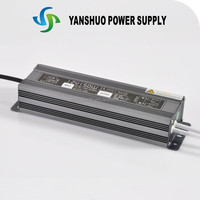 constant voltage 220v 12v ip67 150W external atx power supply with high quality and free colorful box