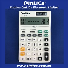 12 digital electronic calendar calculator, mini desk calculator
