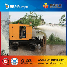 diesel engine driven water pump for mobile working