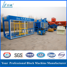 LTQT10-15 Automatic hydraulic brick production machine hollow block brick making machine