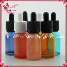 colourful glass 30 ml dropper bottles, frosted glass cosmetic jar silver lid thick base, glass cosmetic jar and silver lid thick