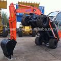 Amz 65w-8 de rueda de china que excavadora excavadora hitachi