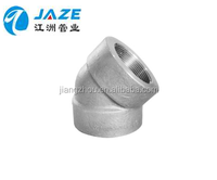 stainless steel 45 degree threaded elbow