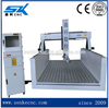 cnc machine 3d styrofoam mould making with Oscillation of the spindle cnc foam carve machine