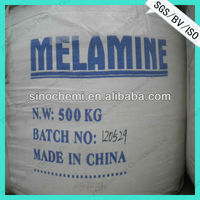 high purity series Melamine crystal 99.8 with competitive price