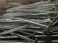OEM supplier ground mounting system steel galvanized ground screw pole anchor (factory)
