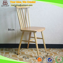 (SP-EC824) Wholesale solid ash wood restaurant chairs timber