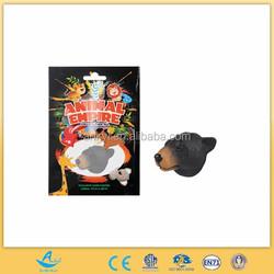Animal Magnet - Black Bear plastic toy on sale