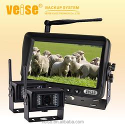 2.4GHz digital wireless camera backup system with 2 wireless camera