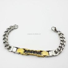 SSB670003 custom latest sweetness young girl bracelet china factory 316l stainless steel jewelry