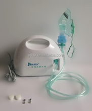 Small Medical Air Compressed Nebulizer/Atomizer with Nebulizer Mask