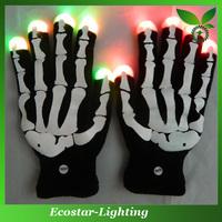 LED Flashing Fingertips Gloves/LED Rave Finger Lighting Gloves