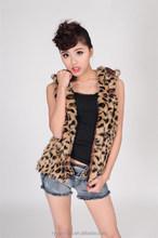 Women Fashion Faux Fur Vest