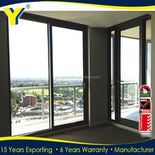 australian standard aluminium sliding door &lowes sliding glass patio doors comply with AS2047 AS/NZS2208 AS1288 standard
